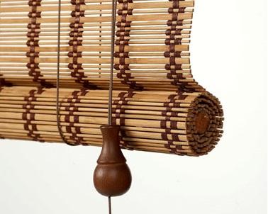 Бамбуковые римские шторы