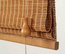 Римские бамбуковые шторы
